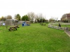 Sixpenny Handley First School grass playground