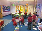Sixpenny Handley First School Bumblebees classroom